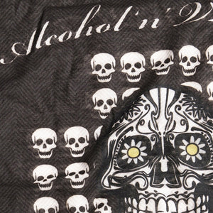 Holy Freedom Skull Custom Motorcycle Bandana Tube