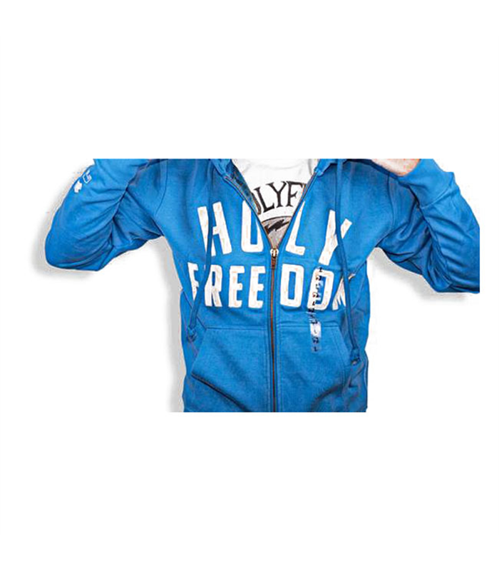 Holy Freedom Italia Light Blue Wind Stopper Hoodie