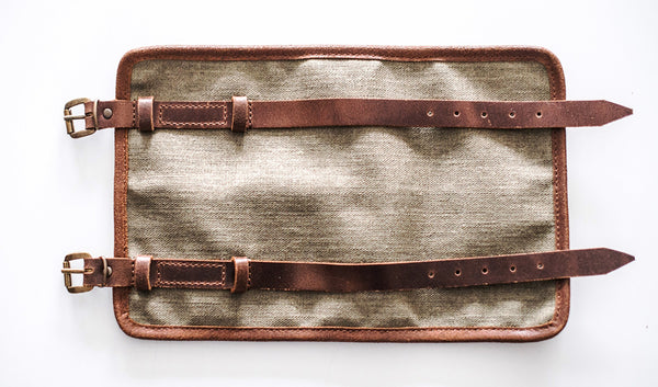 Crave Canvas Motorcycle Tool Roll