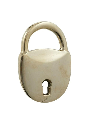 Padlock Bottle Opener - Brass-albi-The Vignette Room - Unique & Inspiring Furniture & Homewares in Paddington Sydney