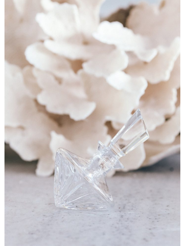 Crystal Bedside Perfume Bottle-Leilah-The Vignette Room - Unique & Inspiring Furniture & Homewares in Paddington Sydney