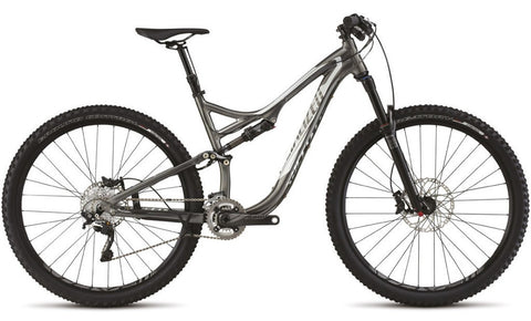 Specialized StumpJumper FSR Elite 29 - Black Chrome/Kool Silver - Medium