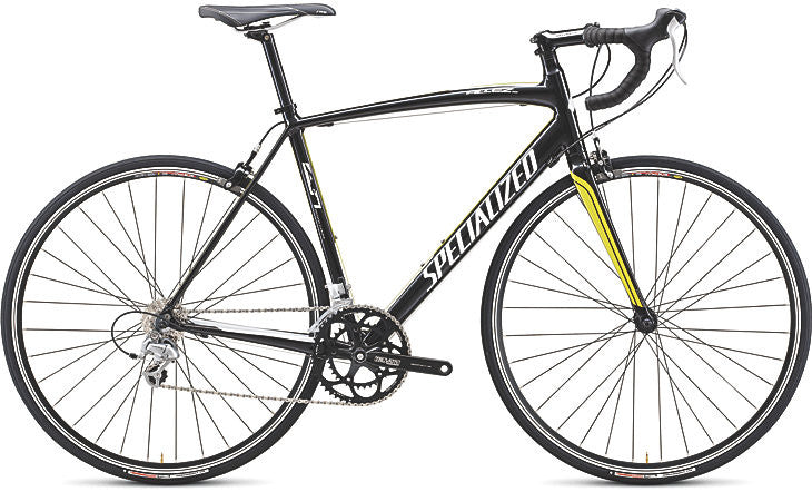 Specialized Allez Sport C2 Sora - Black/Yellow, 49cm