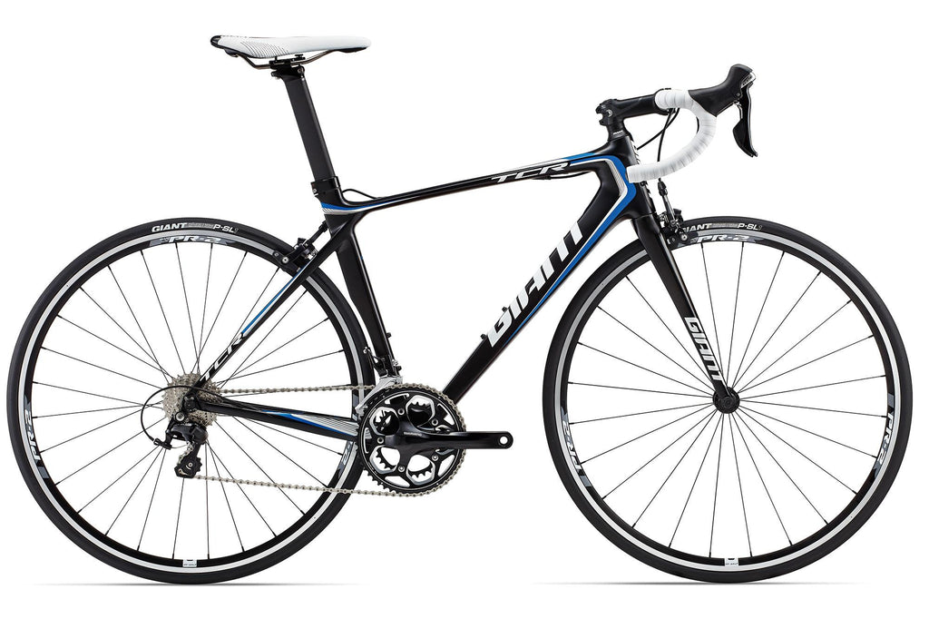 Giant TCR Advanced 2 Comp -Black/White/Blue, Large