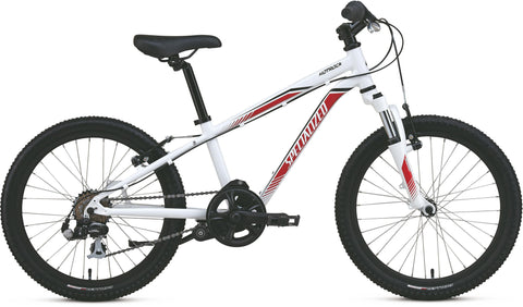 Specialized Hotrock 6 Speed - White/Red/Black - 20'