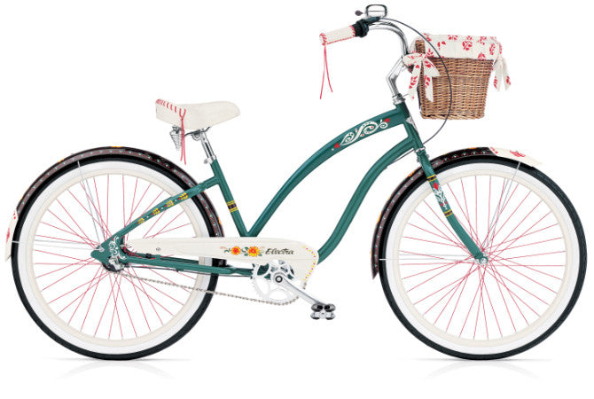 Electra Gypsy 3i - Forest Green, Ladies