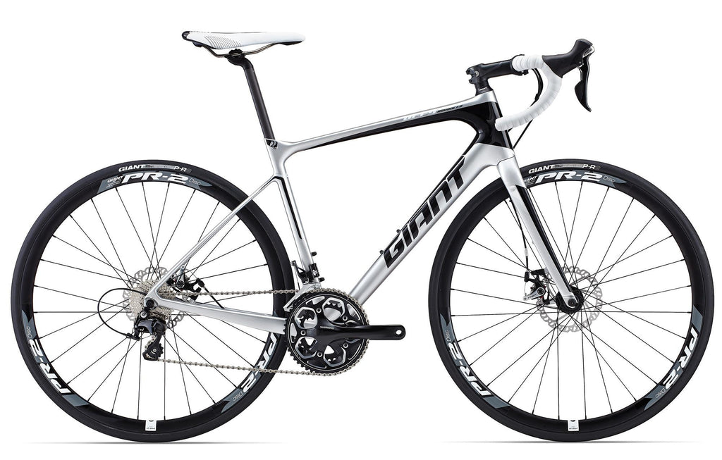 Giant Defy Advanced 2 - Comp/White, Large