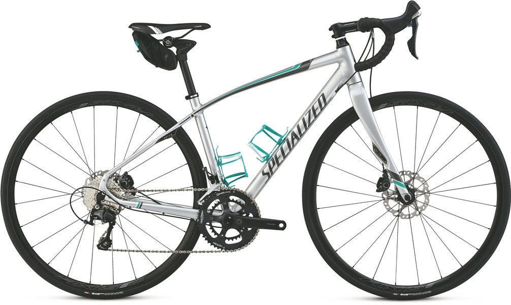 Specialized Dolce Sport EQ - Teal/White/Silver - 51cm