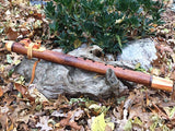 Angelique and Red Flame Boxelder Key of Low C Native American Style Flute