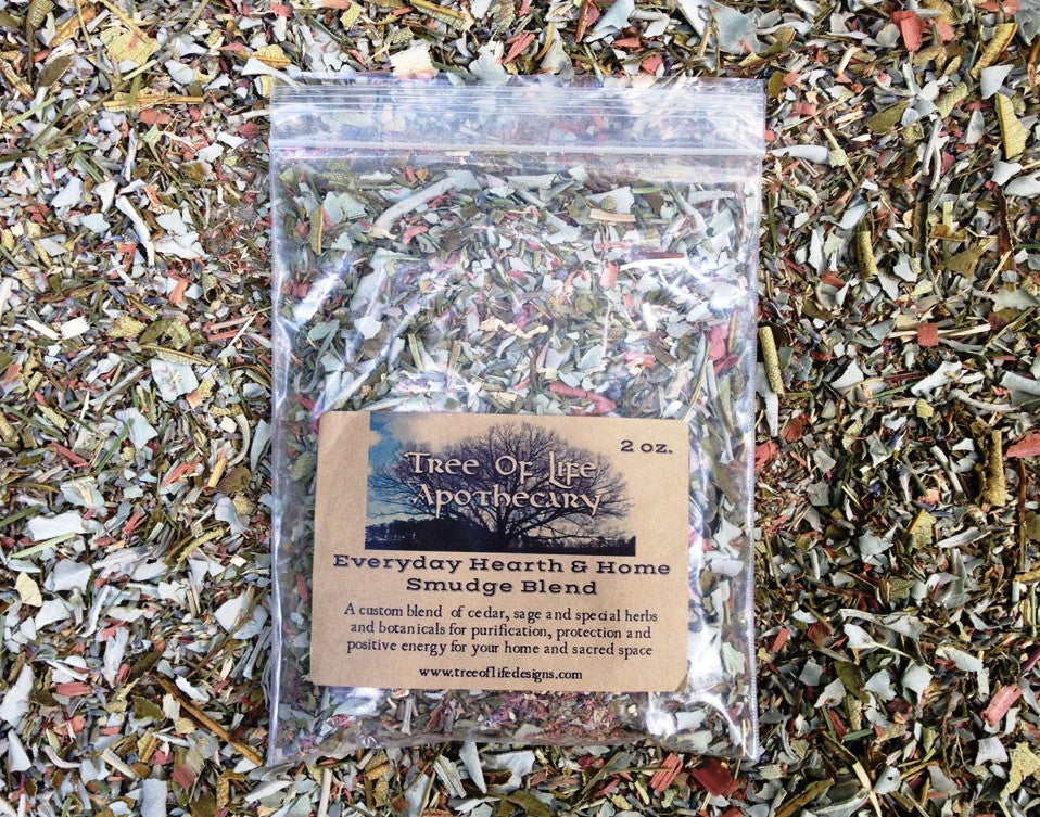 Everyday Hearth & Home Smudge Blend Incense 2 oz.