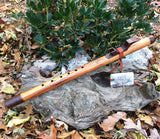Sycamore and Walnut Key of F# Native American Style Flute