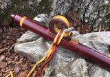 Cocobolo and Walnut Key of G Native American Style Flute