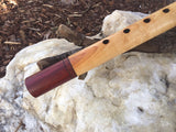 Curly Maple and Padauk Key of G Native American Style Flute