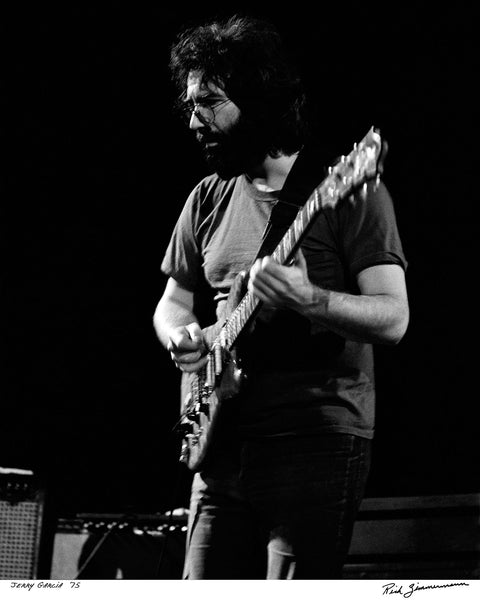 Jerry Garcia, The Grateful Dead, Oriental Theatre, Milwaukee, 1975