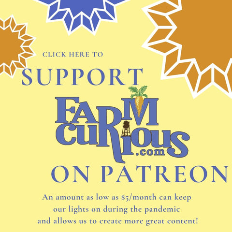 Support FARMcurious on Patreon