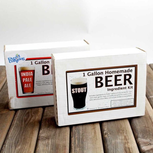 Kits for brewing beer
