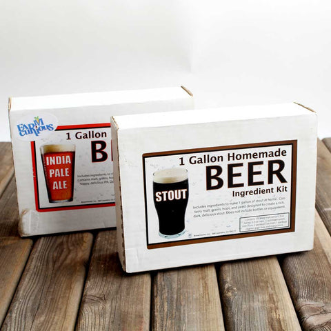Beer Brewing Ingredient Kits