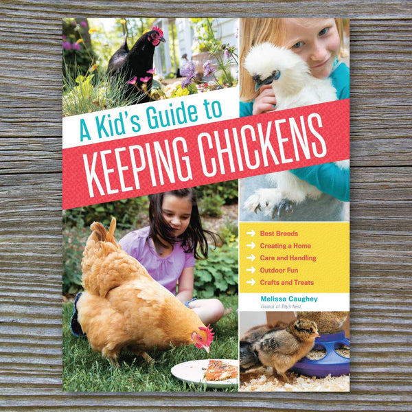 Chicken-keeping book for kids