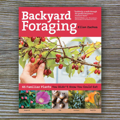 Backyard Foraging - Book by Ellen Zachos