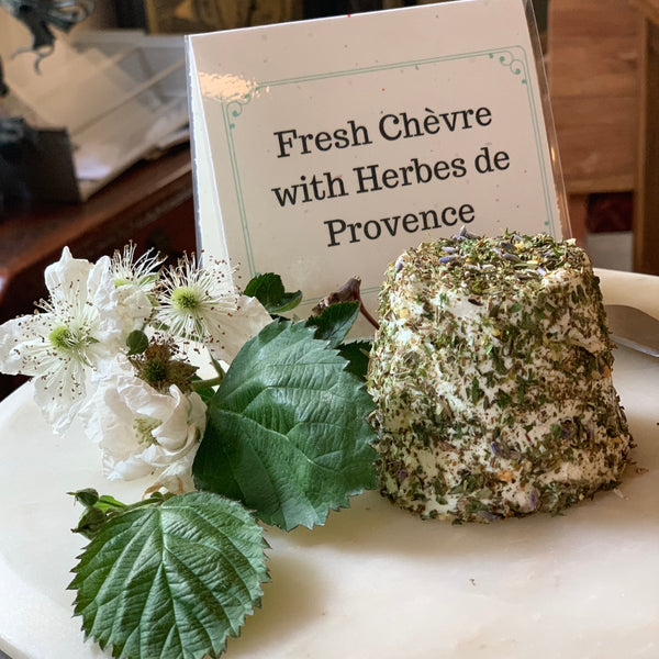 Instructions for Making Fresh Chèvre at Home - Digital Download