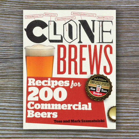 Clone Brews: Recipes for 200 Commercial Beers - Book by Tess and Mark Szamatulski