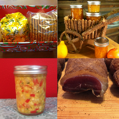 Edible Gifts Workshop: A Curated Collection of Food Preservation Skills