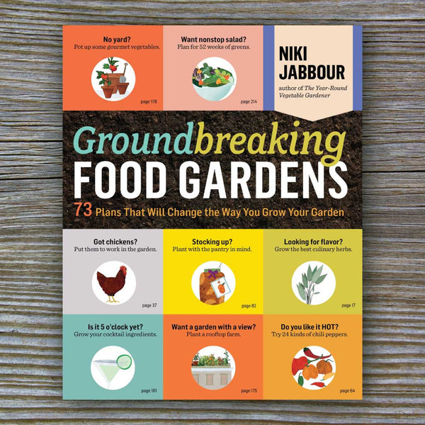 Groundbreaking Food Gardens book