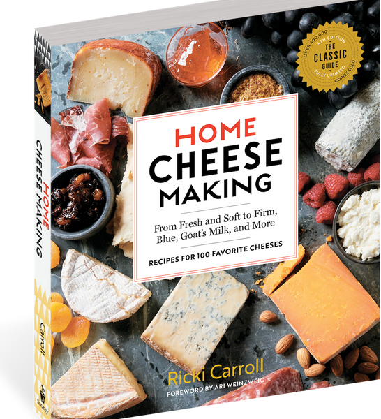 Home Cheesemaking Book, 4th Edition by Ricki Carroll