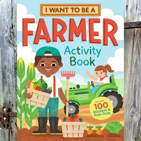 I Want to Be a Farmer - Activity Book from Storey Publishing