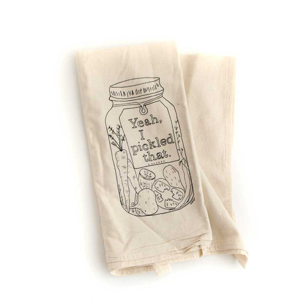 Pickling tea towel