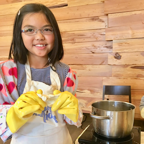 Family Cheesemaking - Unicorn Ricotta & Goat Cheese! - Sat, June 15, 2019