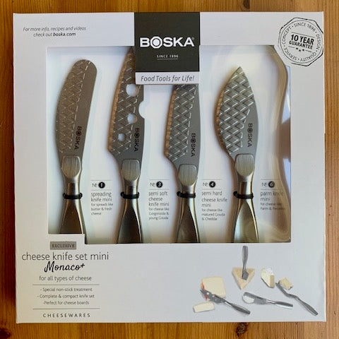 Boska Monaco+ Mini Cheese Knife Set