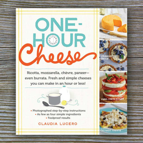 One Hour Cheese - Book by Claudia Lucero