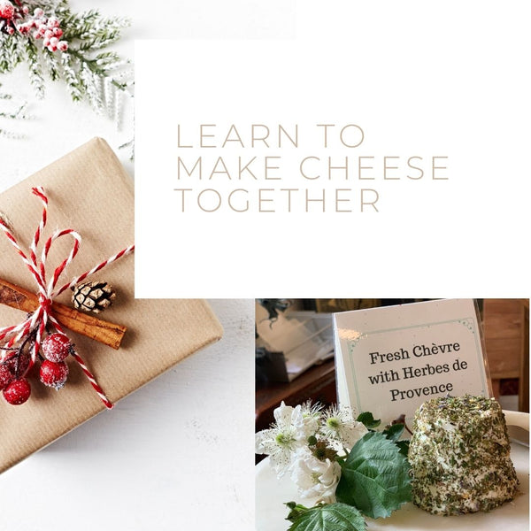 Making Fresh Chèvre & Fromage Blanc, a Follow-Along Virtual Event - Sat, Jan 9, 2021