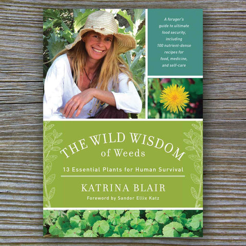 Wild Wisdom of Weeds - Book by Katrina Blair