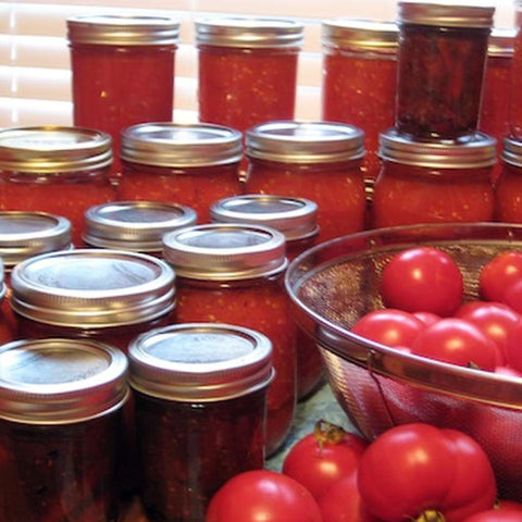 Preserving 101: Canning & Drying Tomatoes