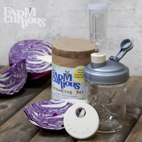 The FARMcurious Kraut Kit