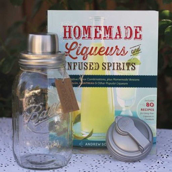 Kit for making homemade liqueurs