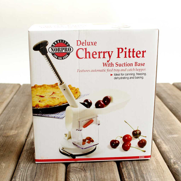 Cherry pitting kitchen tool
