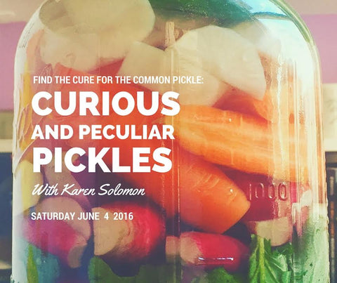 Curious and Peculiar Pickles Class
