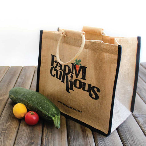 FARMcurious Jute Market Tote