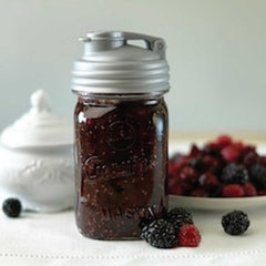 Pour cap for Mason Jar