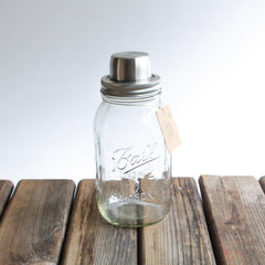 Cocktail shaker Mason jar