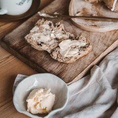Learn to make homemade butter with FARMcurious in an online course.