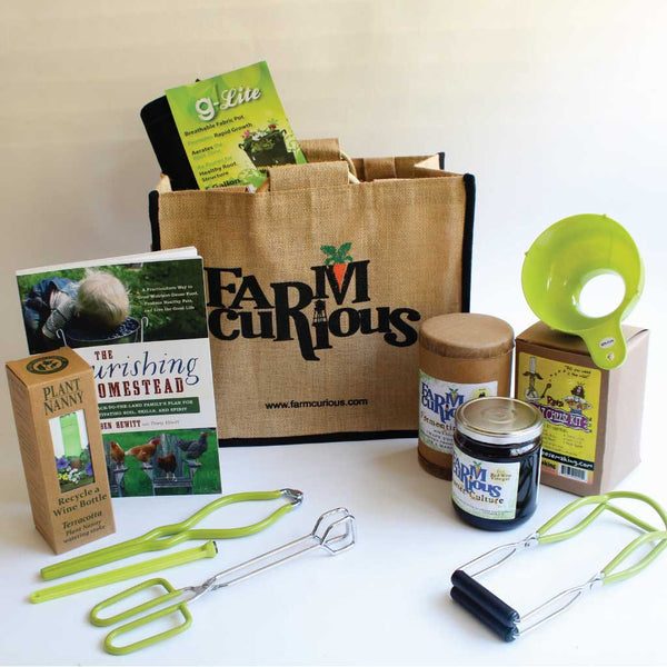The complete kit for urban homesteading