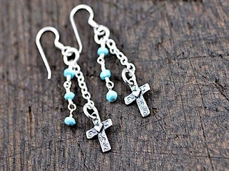 Bold Faith Earrings - Pistol Annie's Boutique