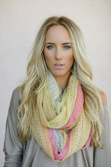 Aztec Sunset Scarf - Pistol Annie's Boutique