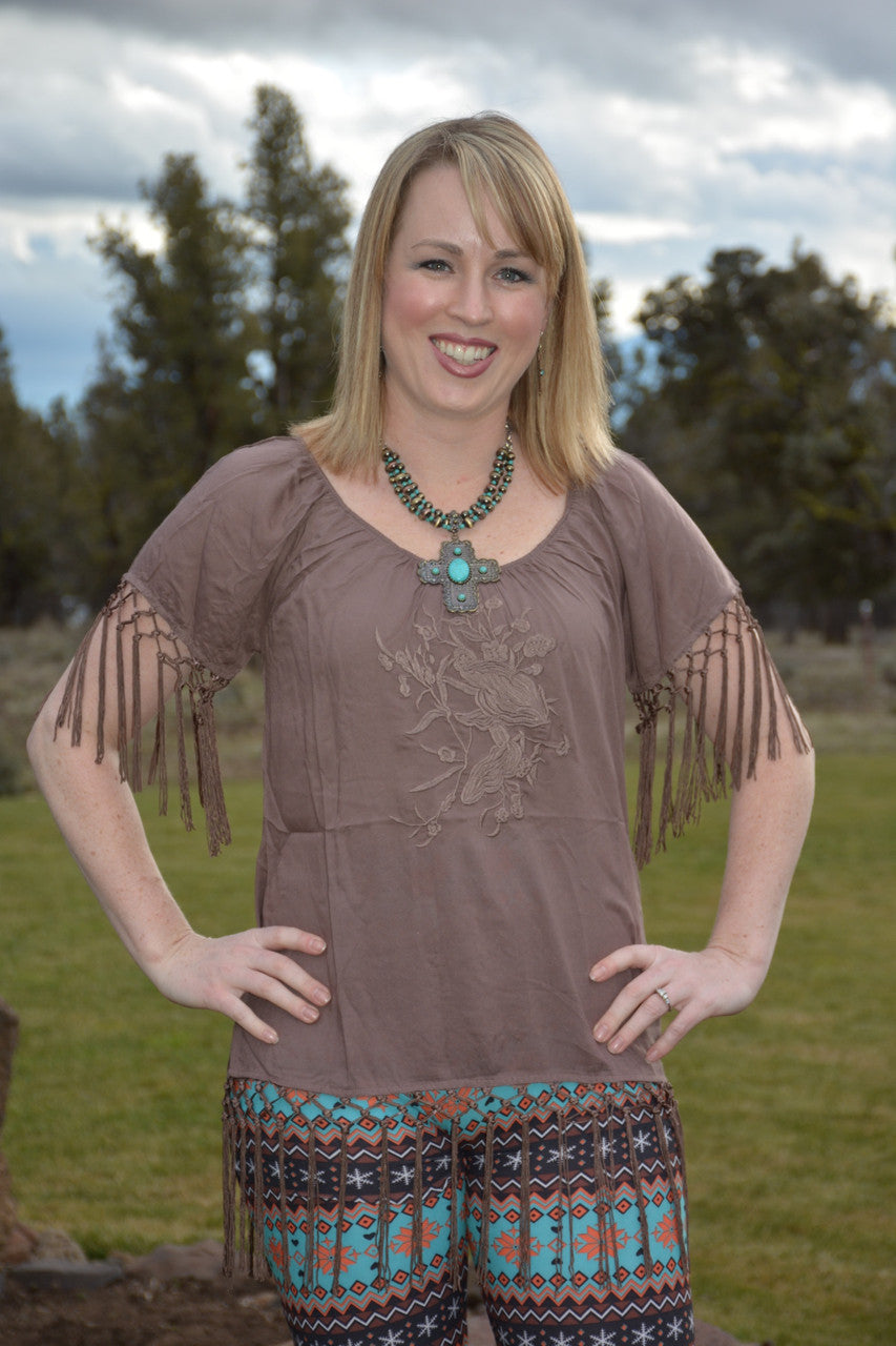 Never Gonna Change Tunic - Pistol Annie's Boutique