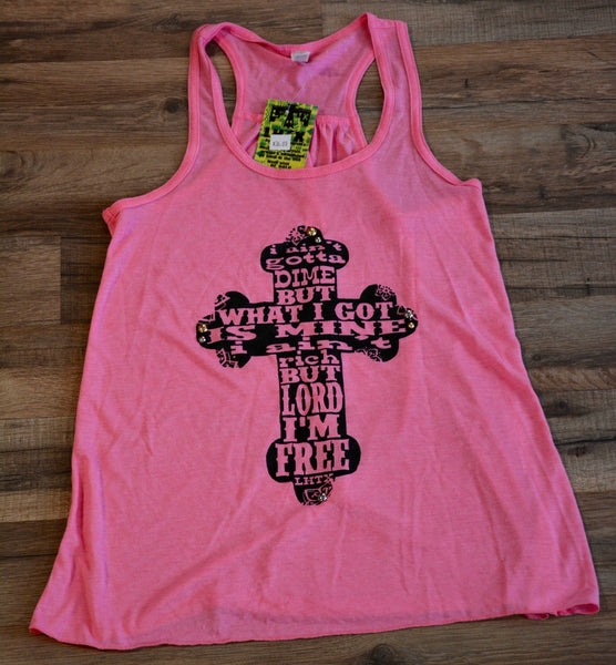 Amarillo by Morning Pink Tank Top - Pistol Annie's Boutique