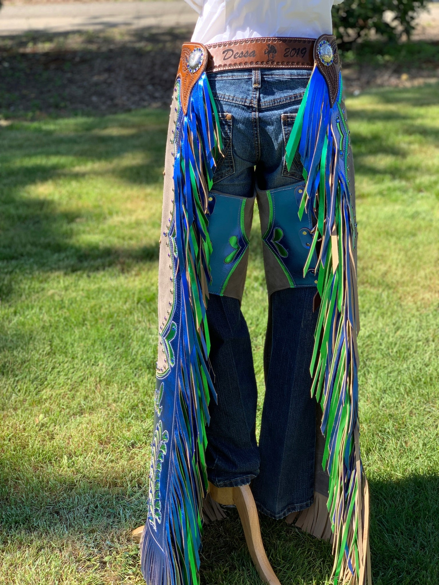 Custom Order Chaps-Please contact us to place your order - Pistol Annie's Boutique